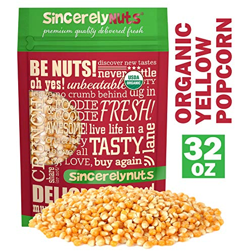 Sincerely Nuts Organic Popcorn Kernels product image