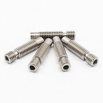 Barrels M6 - Juego de 5 boquillas de acero inoxidable para ...