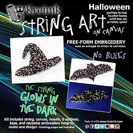 Amazon com: Kreinik String Art on Canvas Free-Form