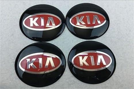 yongyong2018888 Juego de 4 tapacubos de 65 mm para KIA Hyundai