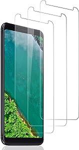SNUNGPHIR Protector Pantalla paraXiaomi Redmi 5 Plus, [3-Pack] Cristal Templado Redmi 5 Plus, Vidrio Templado con [9H Dureza] [Alta Definicion] [Sin Burbujas] [2.5D Borde Redondo] [Anti-rasguños]