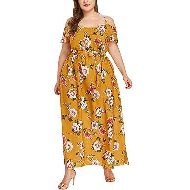 Lurcardo Vestidos Talla Grande Mujer Verano De Fiesta Para