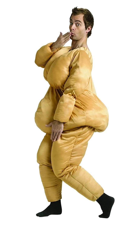 Amazon com  Fat Suit Adult Costume  Clothing Amazon com