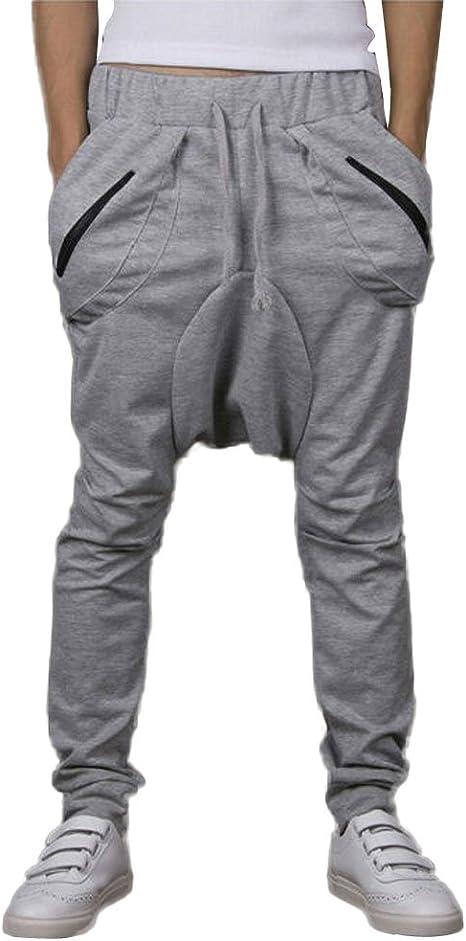 Pantalones Largos Casual Deporte Chandal Algodón Talla L XL XXL ...