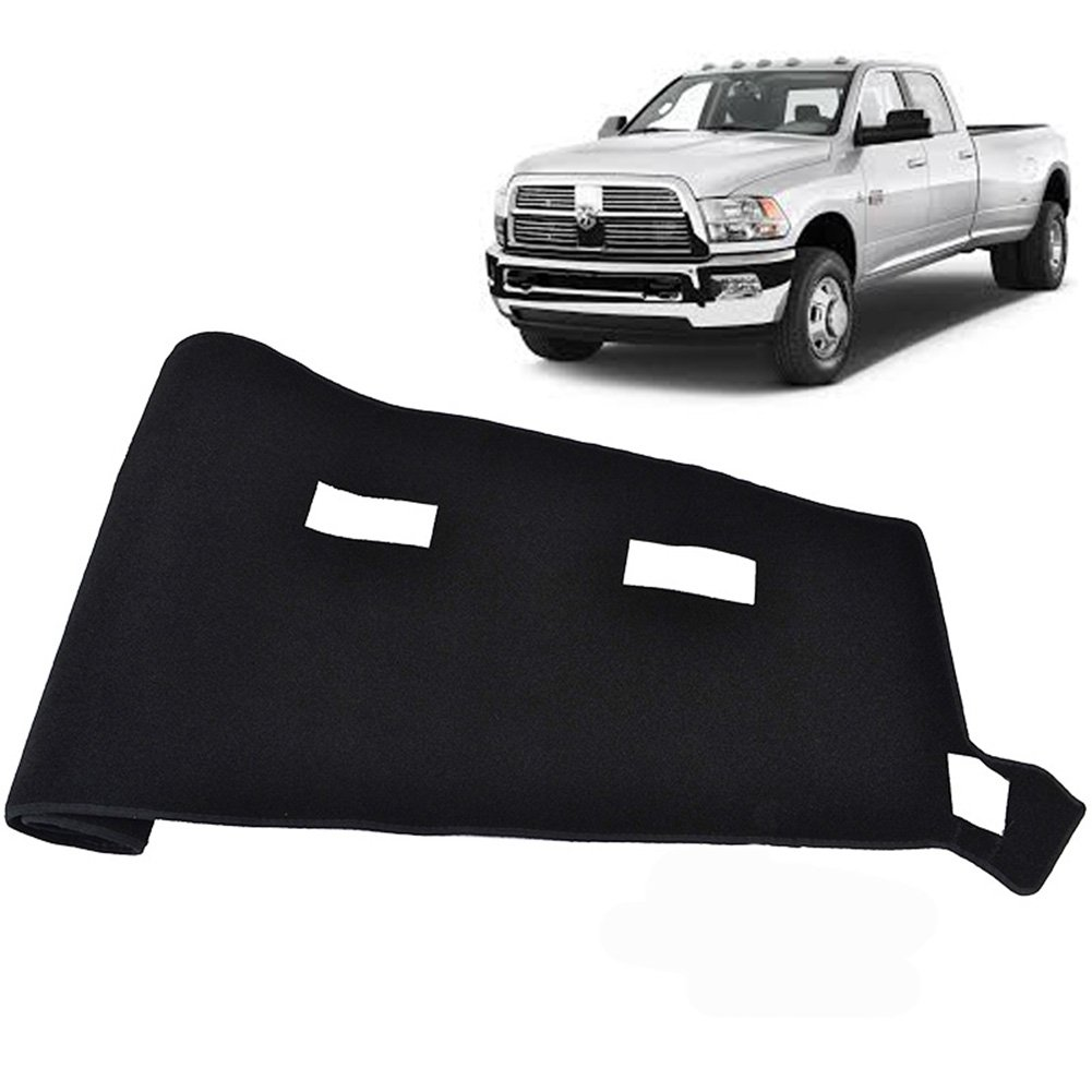Big Ant Dashboard Cover For Dodge Ram 1500 2500 3500 Dash 2003 2002 2008 Black Carpet Mat Custom Fit Protector Easy Installation