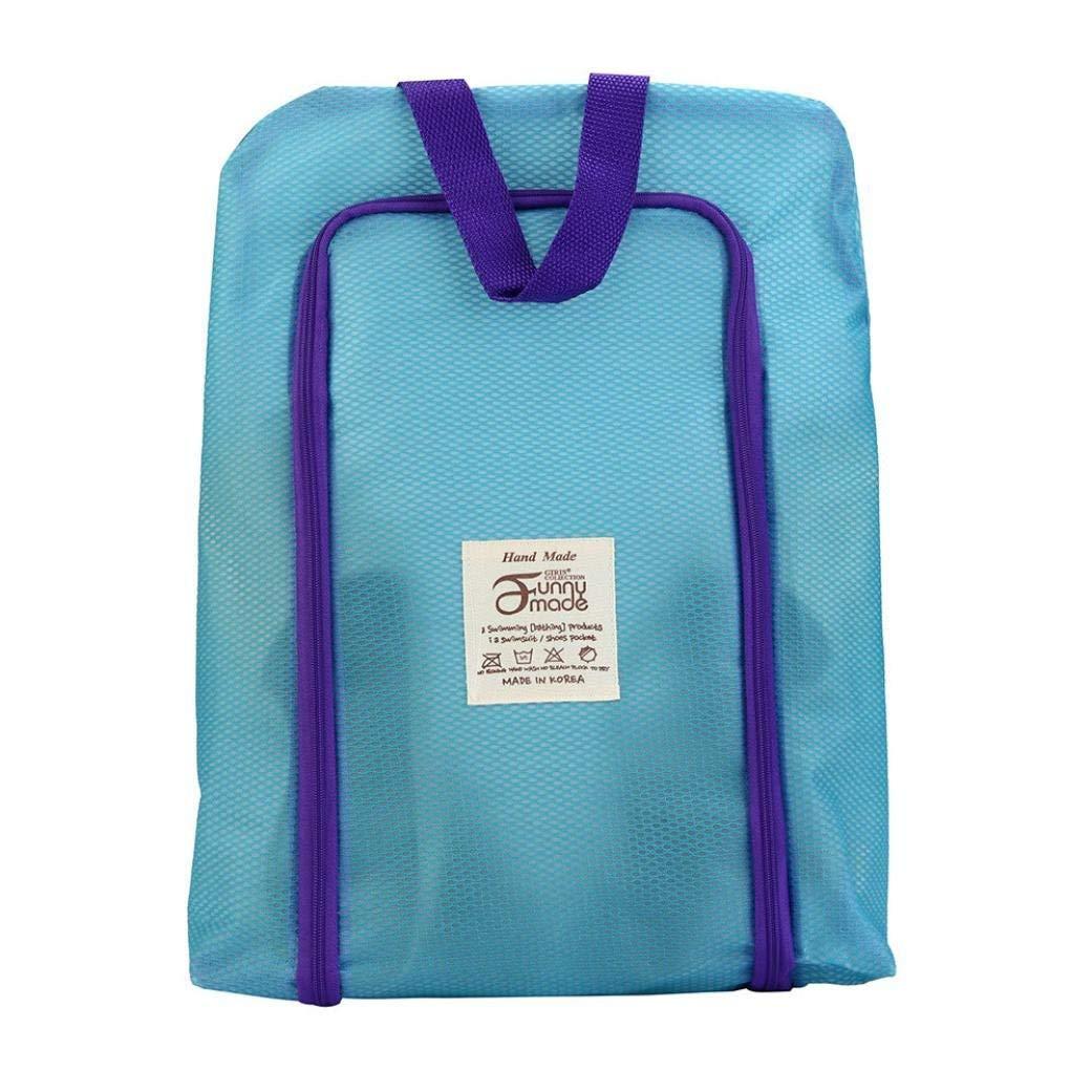VIASA Portable Travel Shoe Bags Storage Organizer With Zipper For Men /& Women