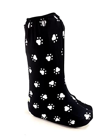 d476c9d609ea19 My Recovers Walking Boot Cover for Fracture Boot, Fashion Cover in Dog Paw,  Tall