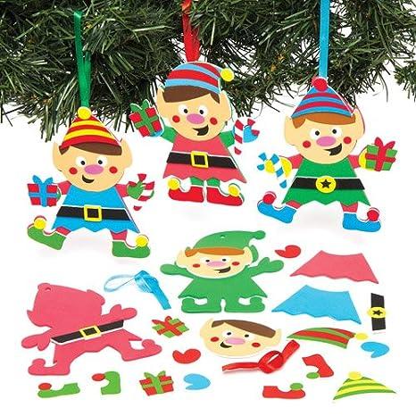 Kit di elfi natalizi decorativi da appendere con accessori ...
