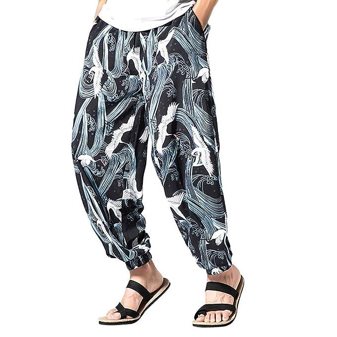 Talla Grande Pantalones Cortos Bolsillos Pantalones ...