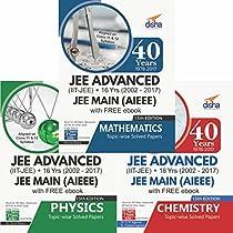 40 Years IIT-JEE Advanced + 16 yrs JEE Main Topic-wise Solved Paper PCM with Free ebook 13th Edition price comparison at Flipkart, Amazon, Crossword, Uread, Bookadda, Landmark, Homeshop18