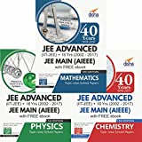 40 Years IIT-JEE Advanced + 16 yrs JEE Main Topic-wise Solved Paper PCM with Free eBook
