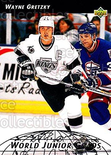 (CI) Wayne Gretzky Hockey Card 1992-93 Upper Deck World Junior Grads 10 Wayne Gretzky ()