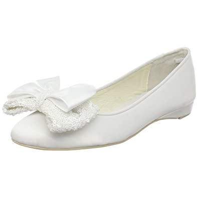 super popular cdb4d 9bb3e MENBUR 042540A06 WEDDING SHOE BAILARINA DOBLE LAZO, Damen ...