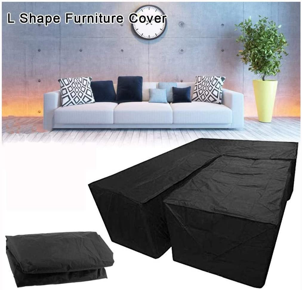 Amazon.com: Waterproof L Shape Dust Cover, Garden Furniture Cover