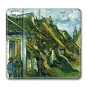 DIY Vincent Van Gogh Design Iphone 6 Leather Case Roof