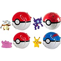 Rocco Giocattoli T18873 - Pokemon Throw 'N Pop Poké Ball, Personaggi Assortiti