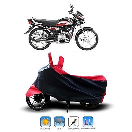 Anthub Hero Hf Deluxe I3s Water Resistant Dustproof Bike Cover Strip Red Amazon In Car Motorbike