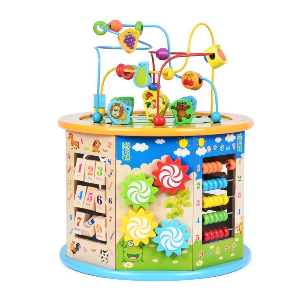 人気定番 赤ちゃんの古典的なおもちゃの子供木製のローラーコースターのビーズ早期学習教育玩具 - : 迷路おもちゃのびん ( Color Color - : D ) B07FSRZHN2, 寝具のレオワイド:de3dfe38 --- svecha37.ru
