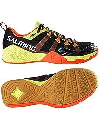 Salming Kobra Black/Shocking Orange Indoor Court Shoes