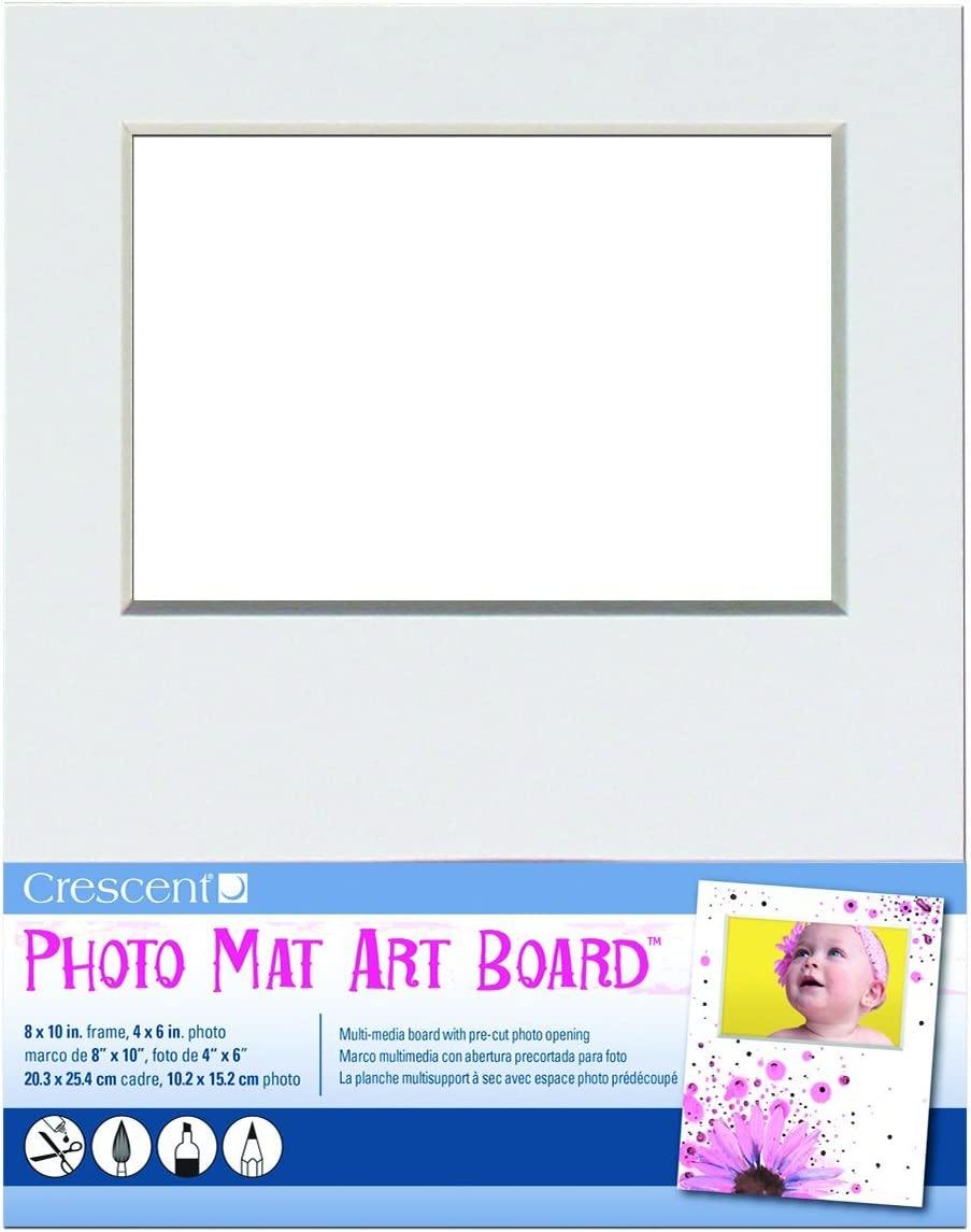 Crescent Creative Products Photo Mat Art Board, 8