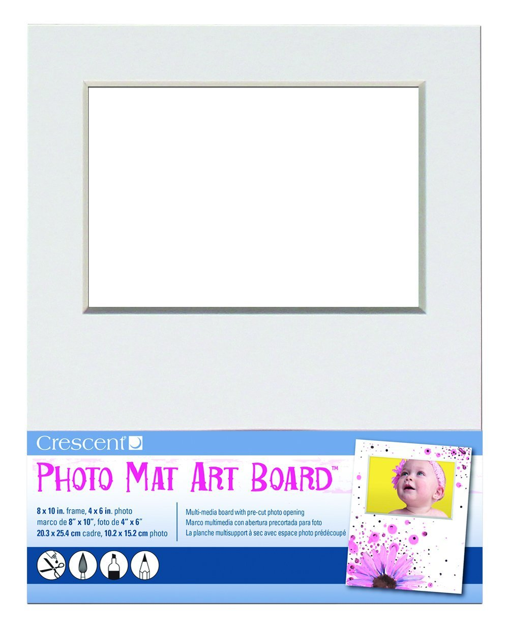 Crescent 12–100 Foto Matte Art Board, 20,3 x 25,4 cm: Amazon.de ...