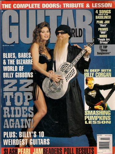 BILLY GIBBONS ZZ TOP GUITAR WORLD BILLY CORGAN PEARL JAM!