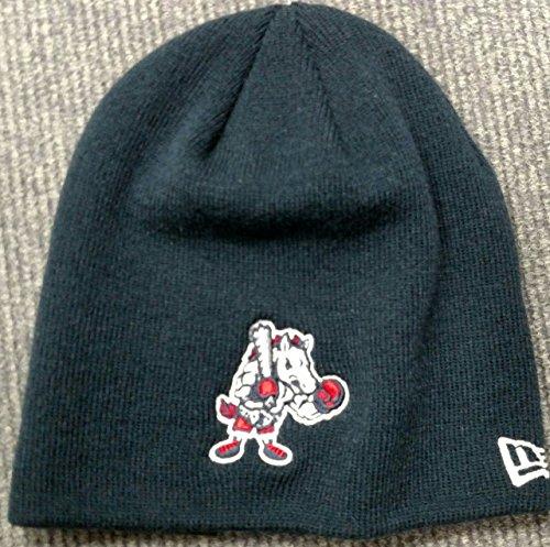 New Era Binghamton Rumble Ponies Dark Navy Alt. Logo Toque Cuffless Knit Beanie Hat