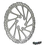 180 mm 108 g Alligator Bremsscheibe  Crown 6-Loch Aufnahme Silber
