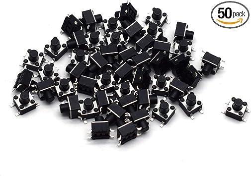 10PCS 4*4*5mm 4x4x 5MM 4X4X5mm Tactile Push Button Switch Tact 4 Pin Switch