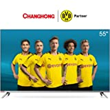 CHANGHONG U55H7 55 Inch 4k UHD Smart andriod TV,UHD, WiFi, Bluetooth, Google Play Store, Google Assistant, Chromecast bulit-in, Netflix, Video,Youtube …