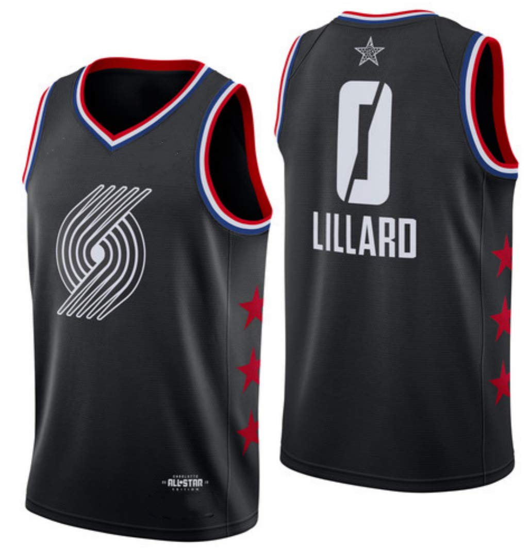 new arrivals 8f1d8 8ebd0 Damian Lillard, Basketball Jersey, Team Lebron, ASG Edition ...