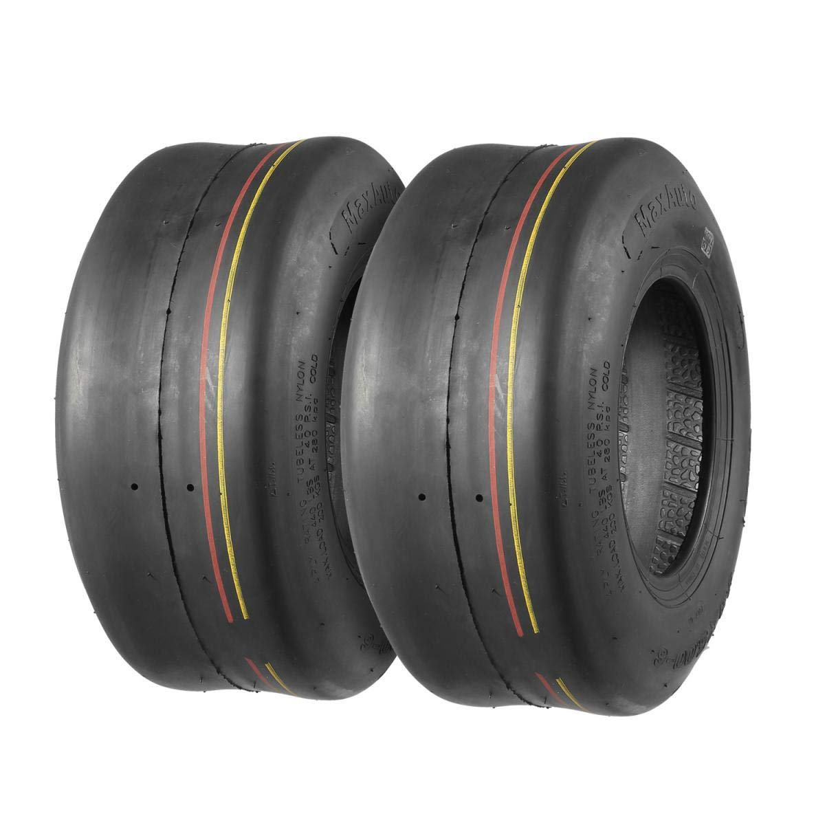 Juego de 2 neumáticos de 13 x 5.00 - 6 13/5-6 13-5-6 Turf 4 ...