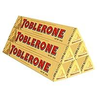 Toblerone瑞士三角 【18年12月到期】瑞士进口巧克力 黑巧克力 白巧克力 牛奶巧克力 口味组合规格可选 (牛奶100g*6)