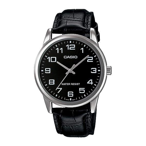 5556f11d51cf Amazon.com  Casio Mens MTP-V001L-1BUDF Wristwatch  Casio  Watches