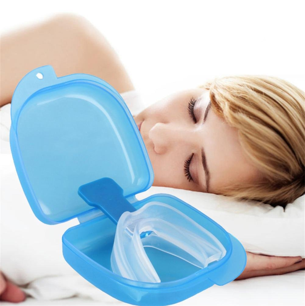XYLUCKY 2 PCS Health Sleep Aid - Anti Snoring Aids Snore Reducing Mouth Tray Device
