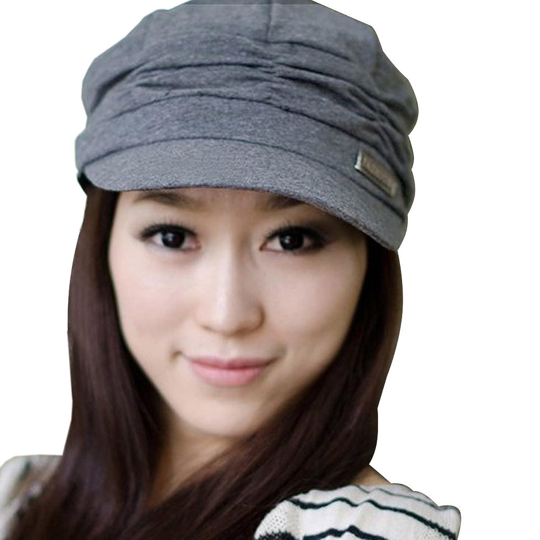 Damen Plissee Slouchy Ski Hut Hüte Käppchen Kappe Mützen Sunhat caps 3 Farben C8