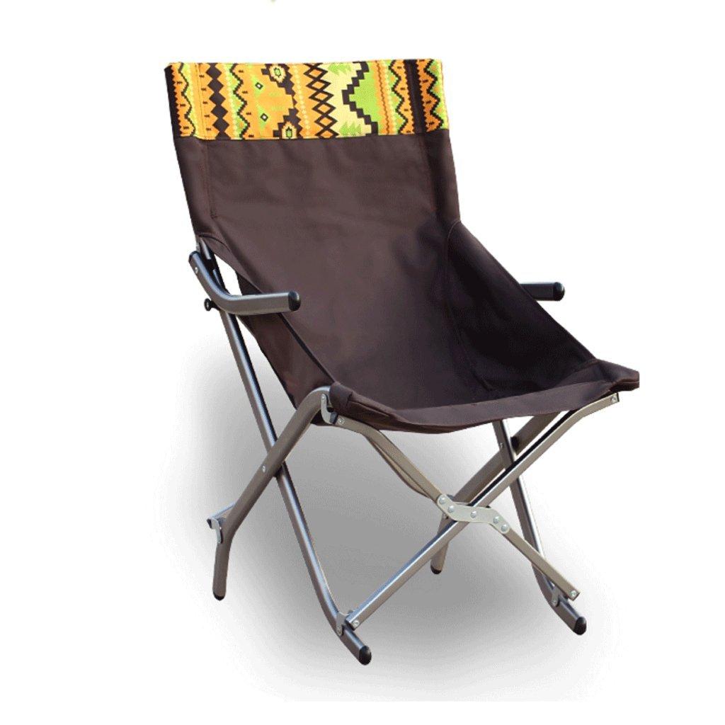ZYN Outdoor Aluminiumlegierung Klappstuhl Mittagspause Halbe Sonne Liegen Sessel Angeln Stuhl Lounge Chair