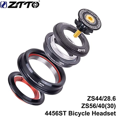 JESSICA Internal Bicycle Headsets 34//44//44-55//44-56mm Sealed Bearings Frame Part