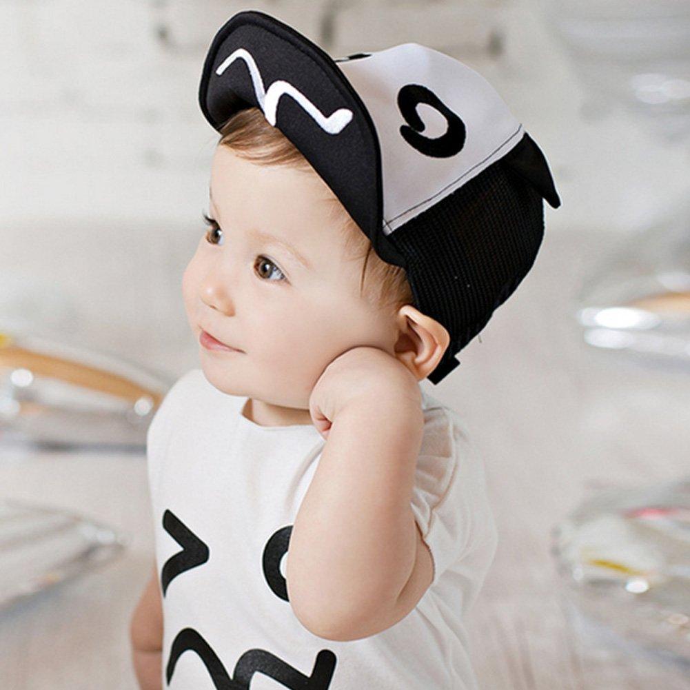 3b070107f Rrimin Baby Hats Baseball Cap Baby Boys Beret Baby Girls Sun Hat ...