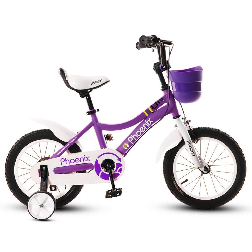 買取り実績  CHS@ 子供の自転車2-4-6歳14インチの自転車バイクサイクリング少年のベビーカー子供のマウンテンバイクパープル 子ども用自転車 子ども用自転車 B07PV83MYB CHS@ B07PV83MYB, 総合通販PREMOA:0630b6ed --- senas.4x4.lt