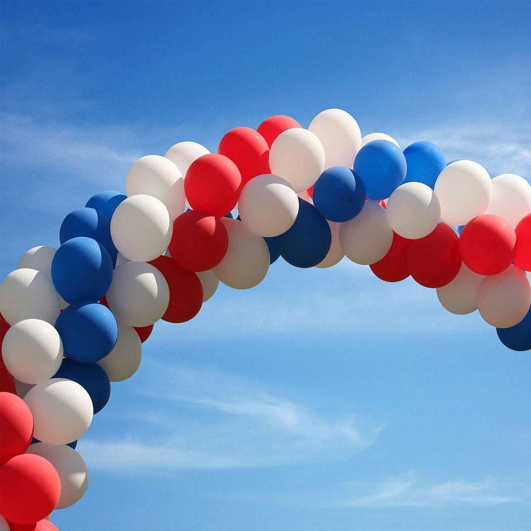 linselles 5m Catena a Palloncino, DIY Irregolare Strumento di Fissaggio del Collegamento a Palloncino Festa di Compleanno di Nozze Organizzare Accessori per Palloncini, Doppio Foro