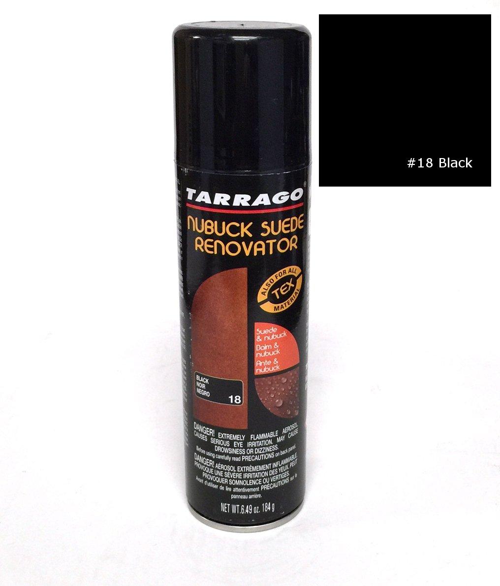TARRAGO Suede & Nubuck Re Color Dye Nourishing Spray Can 8.45 oz (250 ml), Black