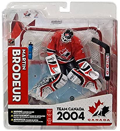 cbbf088d9 Image Unavailable. Image not available for. Color  McFarlane Toys NHL  Sports Picks Series Team Canada Action Figure  Martin Brodeur ...