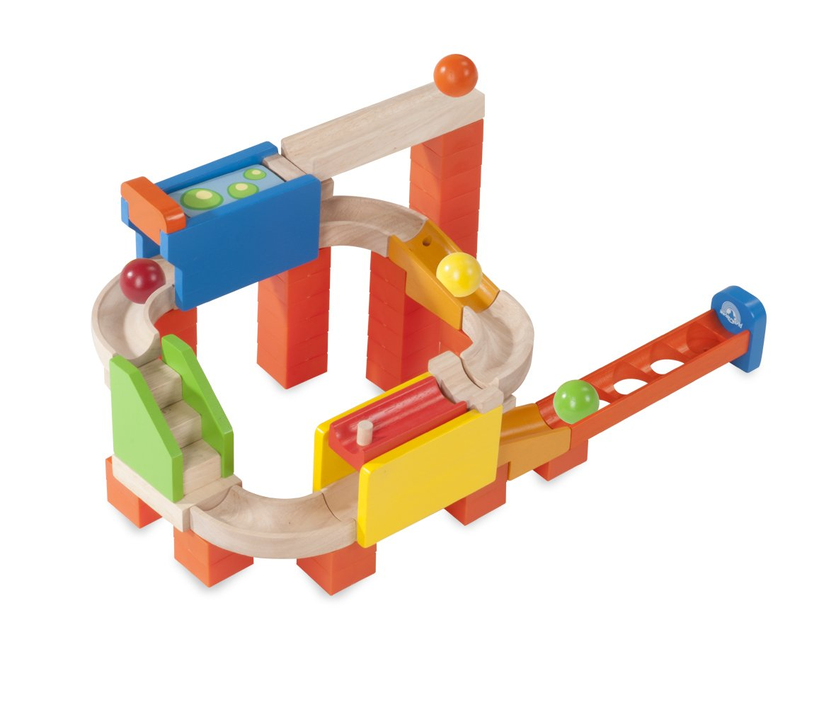 Wonderworld Creative Gravity Play! Trix Tracks 2 Way Flipper - 56 Piece Set Unique Kids Toy with Endless Building Options