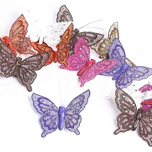 Factory Direct Craft Colorful Group of 12 Jeweled