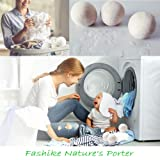Organic Wool Dryer Balls (Pack of 6) Organic