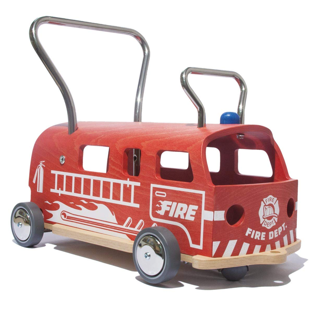 Bobby-Car Feuerwehr - MAAMUU Feuerwehr-Rutscher