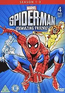 Spider-Man and His Amazing Friends (Season 1-3) - 4-DVD Set ( Spider-Man & His Amazing Friends (Season One, Two & Three) ) [ NON-USA FORMAT, PAL, Reg.2 Import - United Kingdom ]