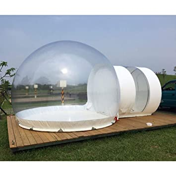 Amazon.com: Foammaker Inflable Eco Home Tent DIY House ...