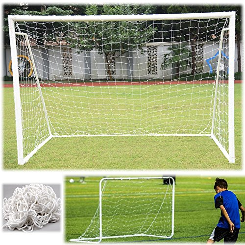 aokur 6x4FT Outdoor Indoor Football Soccer Goal Post Net for Kids Junior Backyard Training Practise 1PC (Net Only) - Soccer Ball Goal Kids